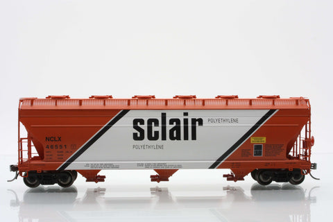 InterMountain Railway 47020  Sclair  ACF 4650 Cu. Ft. 3-Bay Hoppers