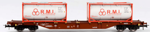 B-Models 54105  NMBS/SNCB Container Wagon - The Scuderia 46