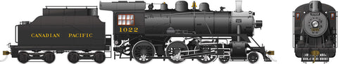 Rapido Trains 602503  Canadian Pacific D10h Ten Wheeler Steam Locomotive