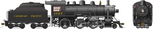 Rapido Trains 602504  Canadian Pacific D10h Ten Wheeler Steam Locomotive