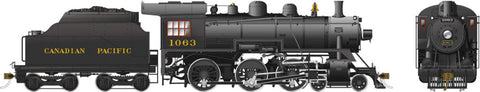 Rapido Trains 602505  Canadian Pacific D10k Ten Wheeler Steam Locomotive