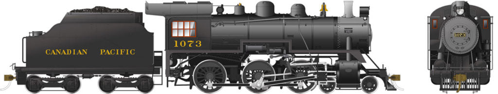 Rapido Trains 602506  Canadian Pacific D10k Ten Wheeler Steam Locomotive