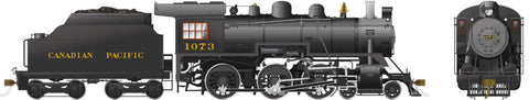 Rapido Trains 602006  Canadian Pacific D10k Ten Wheeler Steam Locomotive