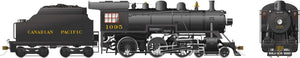 Rapido Trains 602008  Canadian Pacific D10h Ten Wheeler Steam Locomotive