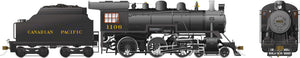 Rapido Trains 602509  Canadian Pacific D10h Ten Wheeler Steam Locomotive