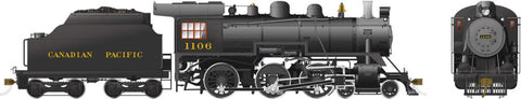 Rapido Trains 602009  Canadian Pacific D10h Ten Wheeler Steam Locomotive