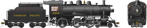 Rapido Trains 602501  Canadian Pacific D10g Ten Wheeler Steam Locomotive
