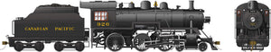 Rapido Trains 602502  Canadian Pacific D10g Ten Wheeler Steam Locomotive