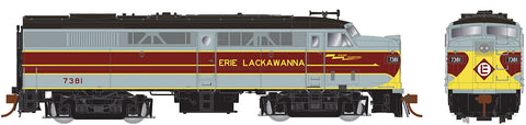 Rapido Trains   Erie Lackawanna (grey/maroon) Diesel Locomotive Alco FA-2