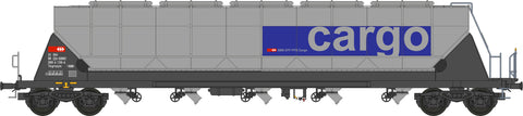 "NME 510690  Silo wagon for food transport w/tail lightTagnpps 96,5m³  ""SBB Cargo"""