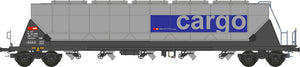 "NME 510691  Silo wagon for food transport w/tail lightTagnpps 96,5m³  ""SBB Cargo"""