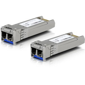 Ubiquiti U Fiber SFP+ Module - For Optical Network, Data Networking 1 LC Duplex 10GBase-X Network - Optical Fiber Single-mode - 10 Gigabit Ethernet - 10GBase-X 10G