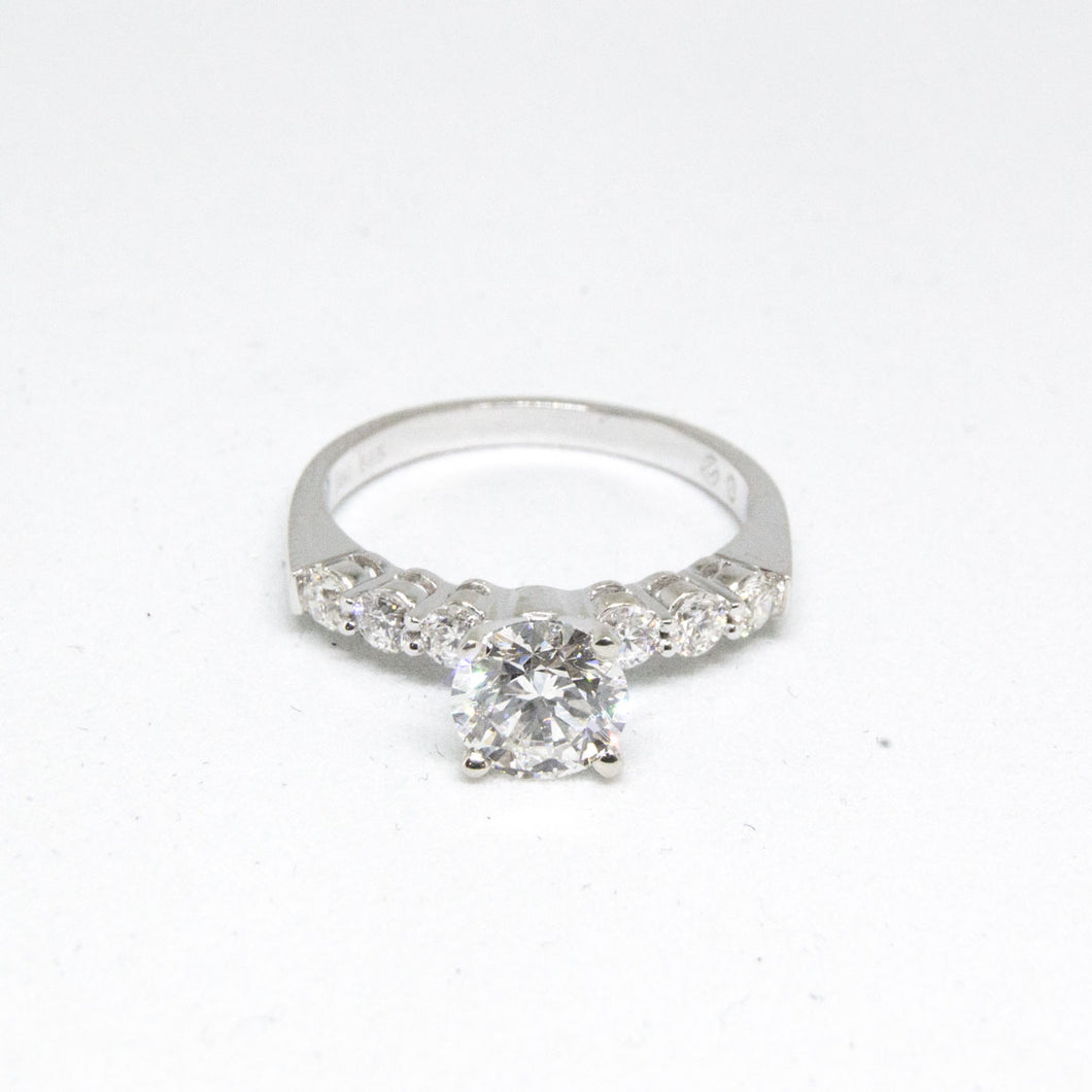1.07 Carat Round Diamond Engagement Ring GIA -  - State Street Jewelry and Loan