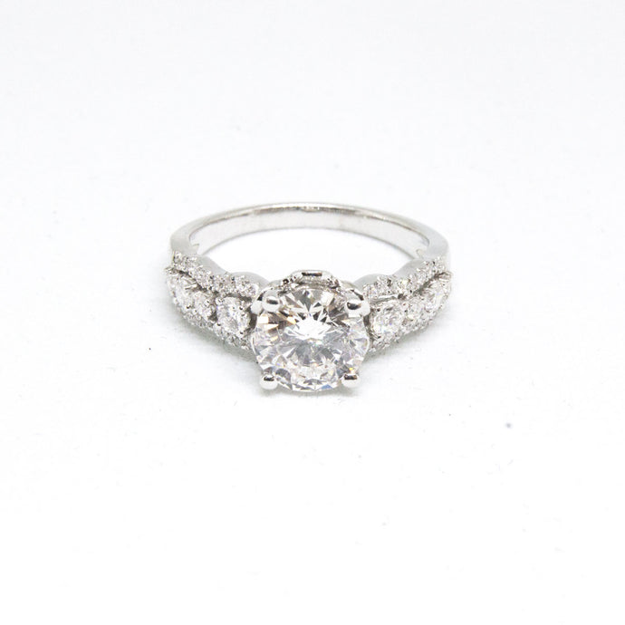 1.54 Carat Round Diamond Engagement Ring -  - State Street Jewelry and Loan