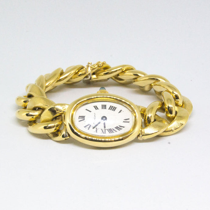 Cartier Baignoire 18k Yellow Gold Womens Watch -  - State Street Jewelry and Loan