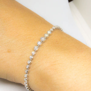 14k White Gold Diamond Bracelet -  - State Street Jewelry and Loan