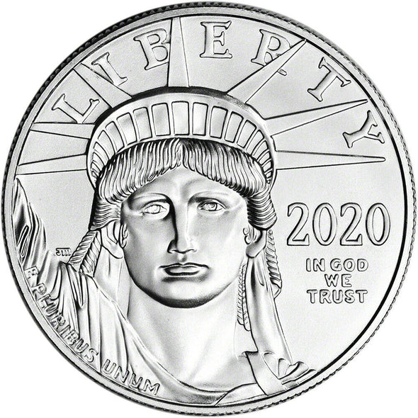 2020 1 oz. Platinum American Eagle $100 Coin