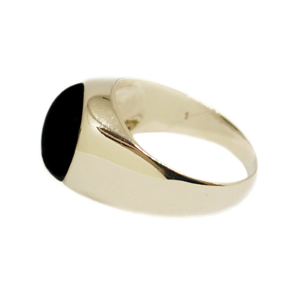 14k Yellow Gold Men's Ring with Tiger Eye -  - State Street Jewelry and Loan