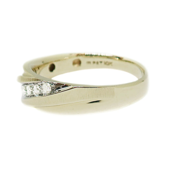 10k Yellow Gold Men's Ring with .25ctw Diamonds -  - State Street Jewelry and Loan