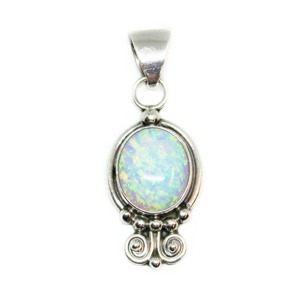 Sterling Silver Moon Stone Pendant -  - State Street Jewelry and Loan