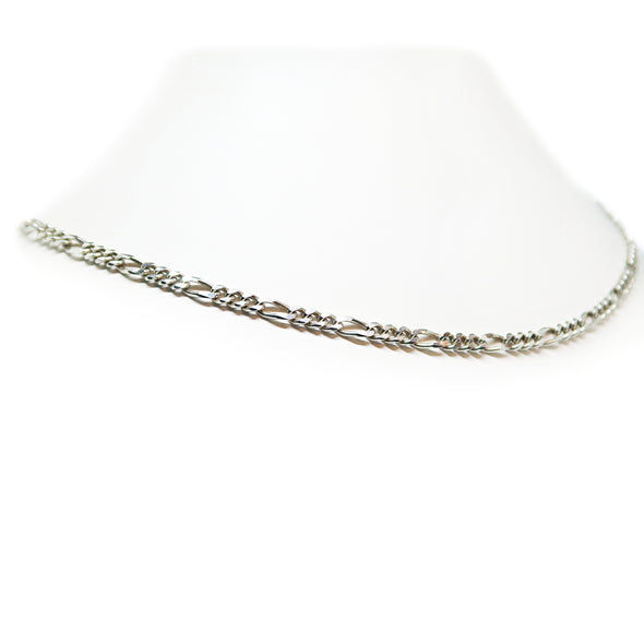 "Sterling Silver Figaro Chain 20"" -  - State Street Jewelry and Loan"