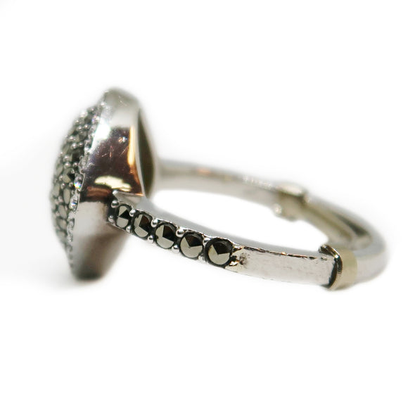 Sterling Silver Ring with Grey Multi Stones -  - State Street Jewelry and Loan