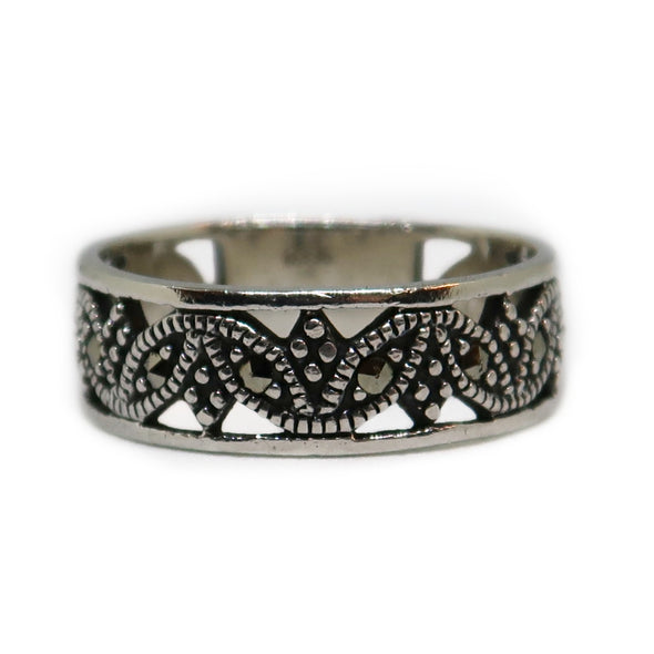 Sterling Silver Ring with Multi Stones -  - State Street Jewelry and Loan