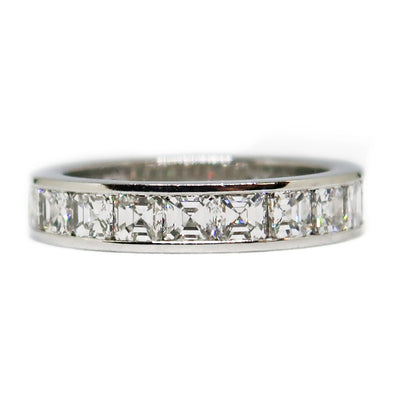 Ladies Platinum Diamond Wedding Band