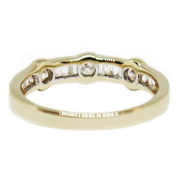 14K Yellow Gold Diamond Wedding Band -  - State Street Jewelry and Loan