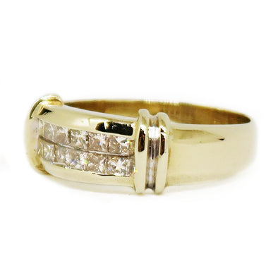 14K Yellow Gold Diamond Ring Band -  - State Street Jewelry and Loan