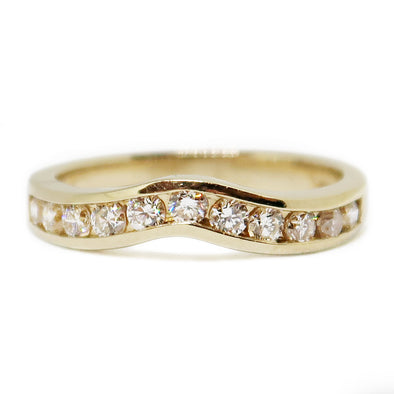 Ladies Ring 14k Yellow Gold with .50 Carat Total Diamonds -  - State Street Jewelry and Loan
