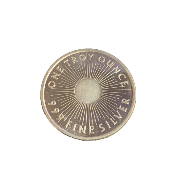 Sunshine Minting .999 One Troy Oz  Silver Coin - coin - State Street Jewelry and Loan