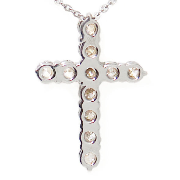 18K Diamond Cross Necklace -  - State Street Jewelry and Loan
