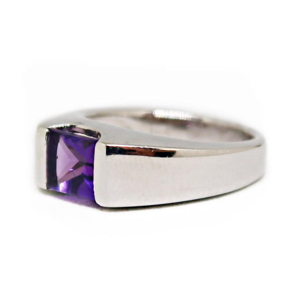 14KWG Amethyst Ring - jewelry - State Street Jewelry and Loan