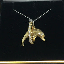 14K Diamond Dolphin Pendant -  - State Street Jewelry and Loan