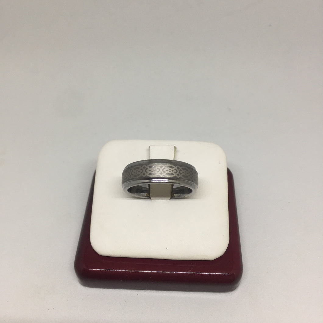 Gray Tungsten Ring -  - State Street Jewelry and Loan