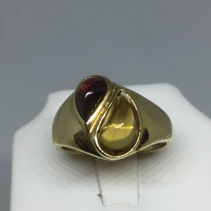 14K Citrine and Garnet Ladies Ring -  - State Street Jewelry and Loan