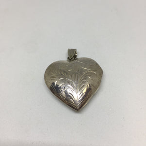 Sterling Silver Locket -  - State Street Jewelry and Loan