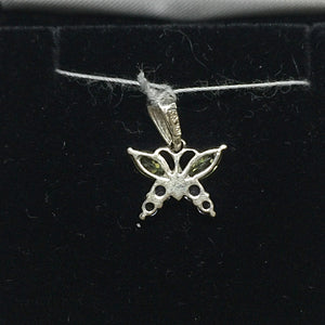 10K White Gold Butterfly Pendant -  - State Street Jewelry and Loan