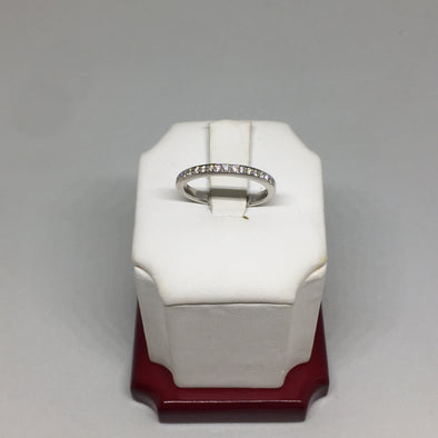 14K White Gold Diamond Wedding Band -  - State Street Jewelry and Loan