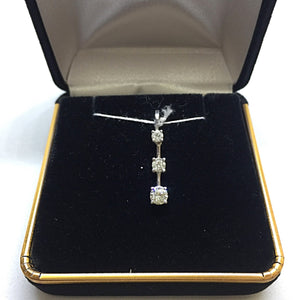 14K Diamond Pendant -  - State Street Jewelry and Loan