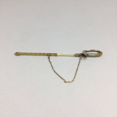 14K Yellow Gold toothpick -  - State Street Jewelry and Loan