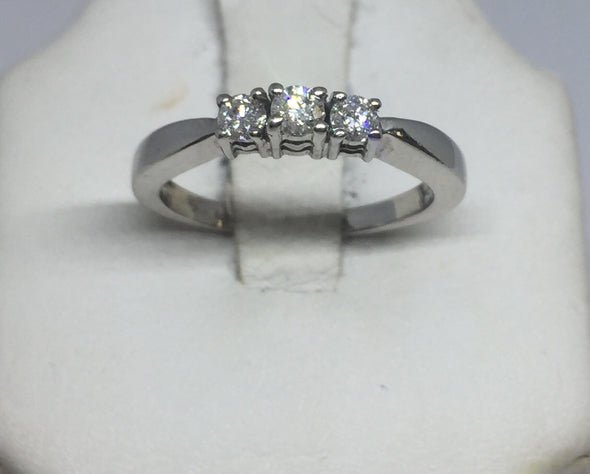 14k White Gold Ladies Engagement Ring -  - State Street Jewelry and Loan
