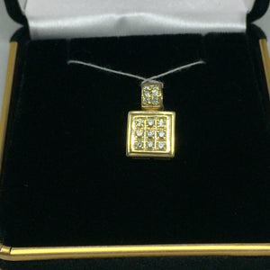 14K Pendant with Diamonds -  - State Street Jewelry and Loan