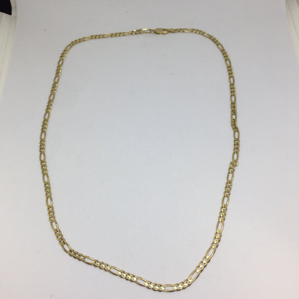 Figaro chain 14K -  - State Street Jewelry and Loan