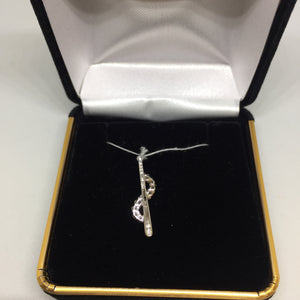18K White Gold Diamond Pendant -  - State Street Jewelry and Loan