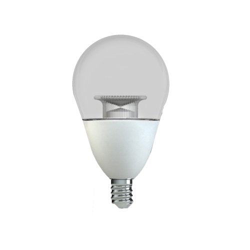 GE Lighting 38274 Soft Dimmable 6.5 (60-Watt Replacement), 530-Lumen Light Bulb with Candelabra Base A15 Ceiling Fan/Appliance LED, 1-Pack, Frosted White