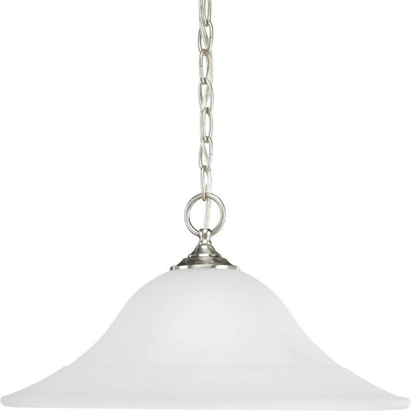 Trinity 1 Light Pendant Finish: Brushed Nickel, Energy Star: No