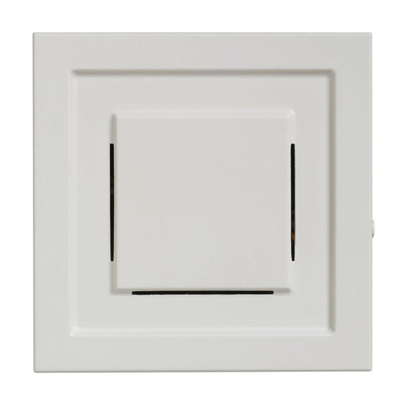 Hampton Bay Wireless Plug-In Door Chime Receiver, White