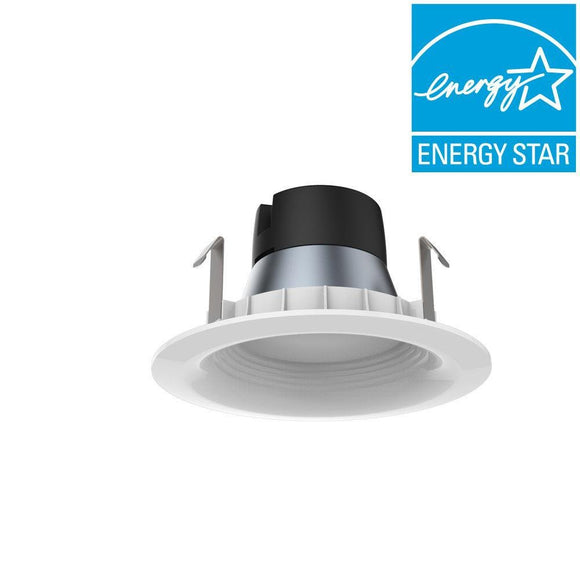 EcoSmart 65W Equivalent Daylight 4 in. GU24 Dimmable Downlight LED Light Bulb